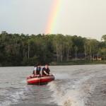 Never Trust a Rainbow on the Amazon River